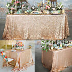 Sparkly Sequin Tablecloth Cover Wedding Banquet Party Decor Dinning Table Home E