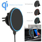 Wireless Car Charger Magnetic Air Vent Mount Phone Holder Stand For iPhone X/8 L
