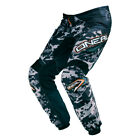 O'Neal Mens & Youth Black/Grey Element Digi Camo Dirt Bike Pants MX ATV 2016