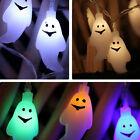 Battery Operated Skull  Shaped Halloween LED String Lights Decoration