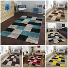 New Large Modern Shaggy Rugs Thick Long Pile Squares Rug Hall Runner Mats Carpet