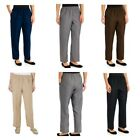 Alfred Dunner Women's Pants Classics Collection Navy Grey Brown Tan