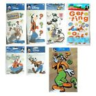 GOOFY Disney Dog Questions Confused Getting Mickey Mouse stickers scrapbook PICK