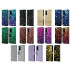OFFICIAL PLDESIGN GLITTER SPARKLES LEATHER BOOK WALLET CASE FOR HUAWEI PHONES