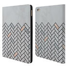 OFFICIAL ALYN SPILLER MARBLE LEATHER BOOK WALLET CASE COVER FOR APPLE iPAD