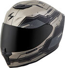Scorpion Adult Matte Titanium/Black EXO-R420 Techno Full Face Motorcycle Helmet