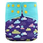 Baby Cloth Diapers Inserts Adjustable Reusable Washable Cloth Pocket Nappies