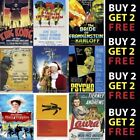 CLASSIC / CULT MOVIES Poster OptionsGlossy Poster Print 300gsm Paper/Card £2.99 GBP on eBay
