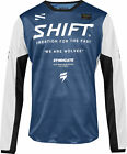 Shift Mens Blue/White White Label Muse Dirt Bike Jersey MX 2019