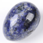 Wholesale 48x35mm Natural Gemstone Egg Ball Crystal Healing Sphere Massage Rock