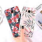 Floral Pattern Hard Cover case for Samsung Galaxy A8 J7 Note 9 S9 iPhone XS Max