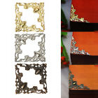 Внешний вид - Retro Metal Jewelry Gift Box Frame Album Scrapbook Corner Protector Cover Decor