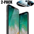 2PACK LOT For iPhone Xs Max / Xr / Xs 9H Premium Tempered Glass Screen Protector