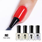 NEE JOLIE 2 in 1 Top Base Coat Nail Cuticle Replenishing Oil 7.5ml Matte Coat