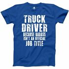 Truck Driver Dad T Shirt Funny Semi Trucker 18 Wheeler Trailer Fathers Day Gift