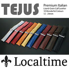 Localtime Tejus Lizard-Texture Italian Leather Watch Strap 16 - 24mm 4 Colours