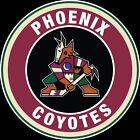 Arizona Coyotes Throwback Circle Logo Vinyl Decal / Sticker 5 Sizes!!! $3.99 USD on eBay