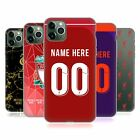 PERSONALISED LIVERPOOL FOOTBALL CLUB 2018/19 GEL CASE FOR APPLE iPHONE PHONES