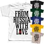 James Bond: From Russia with Love V5, movie, T-Shirt (WHITE) All sizes S to 5XL $23.98 CAD on eBay