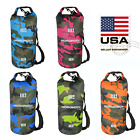 Mororock 10l 20l Camouflage Pvc Kayak Fishing Boating Camping Waterproof Dry Bag