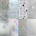 Waterproof Glass Frosted Bathroom Self Adhesive Static electricity Film Sticker