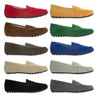 1ce6e9a1168 AnnaKastle Womens Classic Suede Leather Penny Loafer Moccasin Driving Shoes