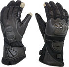 Venture MC-325 12V Heated Cold Weather Hard Knuckle Motorcycle Riding Gloves