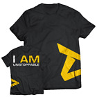 Dedicated Nutrition apparel t-Shirt - I AM UNSTOPPABLE (Brand New) Free P&P