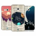 HEAD CASE DESIGNS BOOK PAGE ILLUSTRATIONS HARD BACK CASE FOR HTC PHONES 1