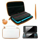 Case For Nintendo 2DS XL/LL Hard Protective Carrying Bag Screen Protector Film