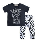 NWT Star Wars 'Yo da Man' Baby Boy Short Sleeve Shirt & Pants Outfit Set $10.99 USD on eBay
