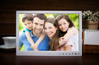"15"" Inch LED Clock/MP4/Movie SD/MS Digital Photo Frame Picture Touch Key Remote"