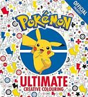 Pokemon Colouring & Creative Colouring Book Selection (Official Products, New)