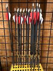 Gold Tip Velocity Pro 400 Fletched Arrows 2 Red/ 1 White