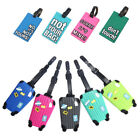 Kyпить Plastic PVC Luggage Tag Suitcase Bag Tag ID Name Address Phone Card Hot 25 Types на еВаy.соm