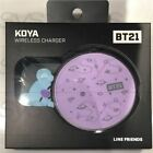 BTS BT21 Official Authentic Goods Wireless Charger Pad 8Characters with Track #