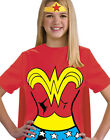 Wonder Women Kids Justice League T-Shirt With Cape Girls Halloween Costume