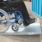 Lightweight Aluminium Wheelchair Roll Up Ramp. Portable. 3ft with bag
