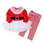 US Christmas Toddler Kid Baby Girl Festival Xmas Party Tutu Dress Outfit Clothes <br/> ❤CHRISTMAS PARTY COSTUME❤BEST GIFT❤USA STOCK❤