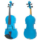 Mendini Solid Wood Violin Size 4/4 3/4 1/2 1/4 1/8