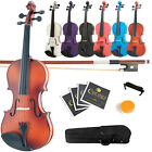 Kyпить Mendini Solid Wood Violin Size 4/4 3/4 1/2 1/4 1/8 на еВаy.соm