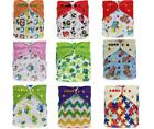 Baby Cloth Diapers OneSize Reusable Pocket Nappy For Newborn+ 1 Insert