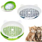 Cat Kitten Litter Box Training Tray Sand Dog Pet Toilet Basin Pet Cleaning Easy
