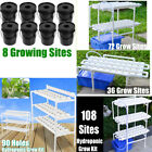 Planting Site Hydroponic Grow Kit Ebb Ladder System Vegetable Deep Water Garden