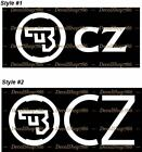 Cz Firearms -hunting/shooting/outdoor Sports- Vinyl Die-cut Peel N' Stick Decals