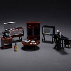 Dollhouse Miniature Furniture For 1:12 Doll Hous Decoration Baby Kids Xmas Gifts