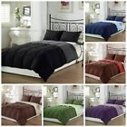 Chezmoi Collection Super Soft Goose Down Alternative Reversible Comforter Set image