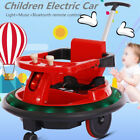 Children Electric Car Music Light Kids Ride On Swing Power Wheels Remote Control