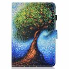 For Amazon butterfly owl flip folio card holder Tablet case protective skin owl