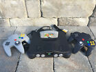 N64 Nintendo 64 Console W/ 2 ORIGINAL CONTROLLERS - CHOOSE FROM POPULAR GAMES!